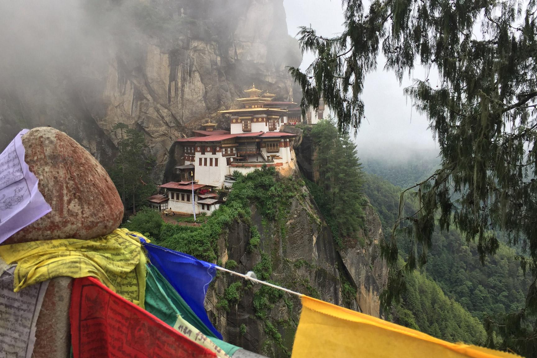 Tempel Bhutan Signature Reise