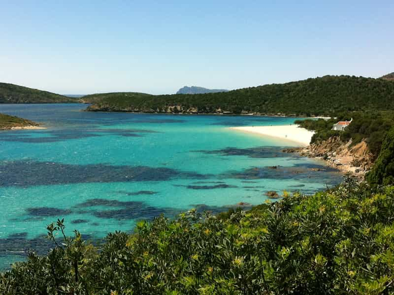 Sardinien Aussicht Meer