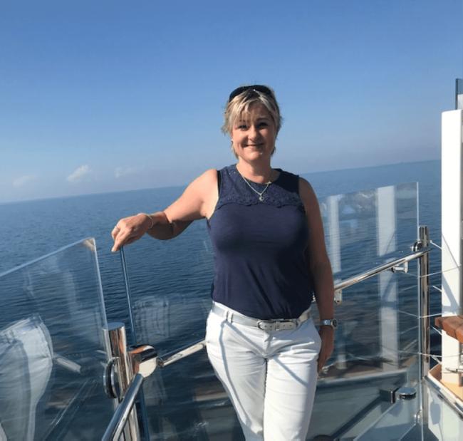 Nicole auf der Mein Schiff 4